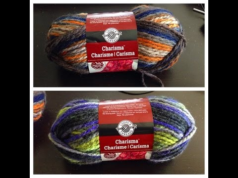 Yarn Recommendations: Charisma by Loops & Threads - YouTube