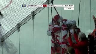 Highlights: Cornell Men's Ice Hockey vs. Quinnipiac - 11/16/18