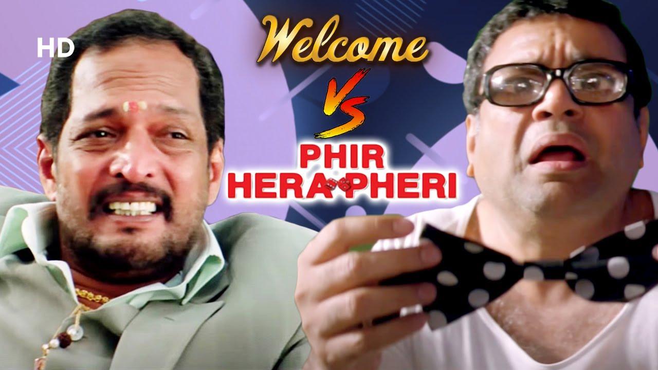 Phir Hera Pheri V/S Welcome - Best Comedy Scenes - Paresh Rawal - Akshay Kumar - Nana Patekar