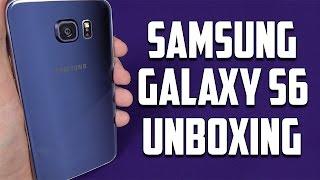 Samsung Galaxy S6 Unboxing Black Sapphire