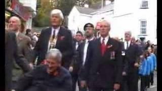 Remembrance Day - Armistice Day Parade Lyme Regis Part 1