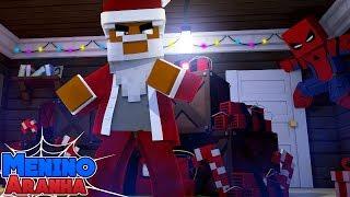 Minecraft: MENINO ARANHA - SALVEI O NATAL!!! #147