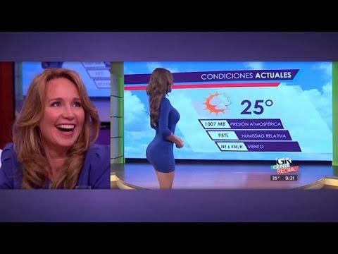 De mooiste weerdames uit het buitenland… - RTL LATE NIGHT