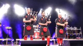 Red Hot Chilli Pipers - Thunderstruck - Wiesbaden 8.11.16