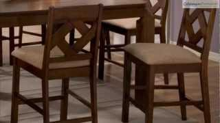 Antoine Counter Height Dining Room Collection From Coaster Furniture