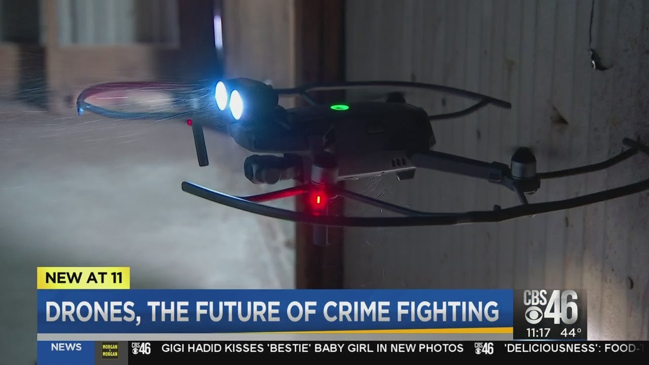 Drone technology takes off in law enforcement