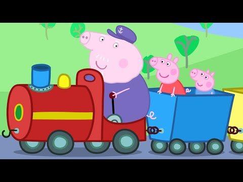 Peppa Pig em Português  O Trenzinho do Vovô  Compilação de episódios  Desenhos Animados PPBP2018