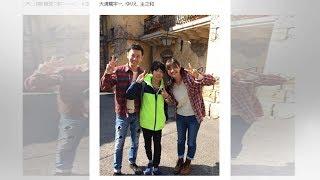 """大浦龍宇一、28歳シンガーソングライターと""""連れ子再婚"""" 15歳息子に「お..."""
