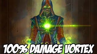 100% DAMAGE VORTEX WITH ERMAC! - Mortal Kombat X