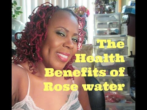 TheHealth Benefits Of Rose Water