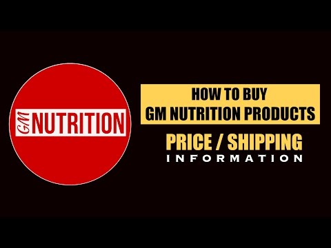 How to buy GM NUTRITION products | Price & Shipping | Info by Guru Mann