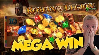 BIG WIN!!! Roman Legion Extreme BIG WIN - Casino Games - free spins (gambling)