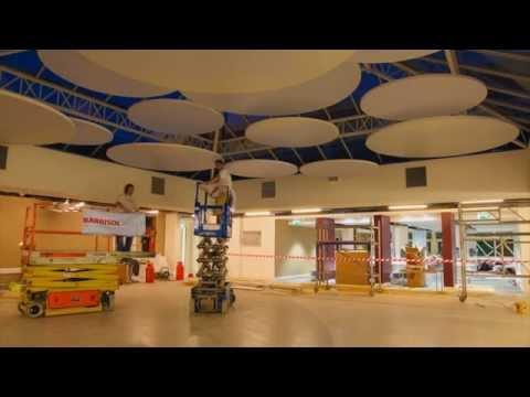 LINEARsystem - akustyczne panele BARRISOL