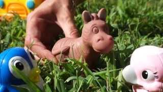 Домашние животные для детей. На ферме. Развивающий мультфильм для детей. Часть 3