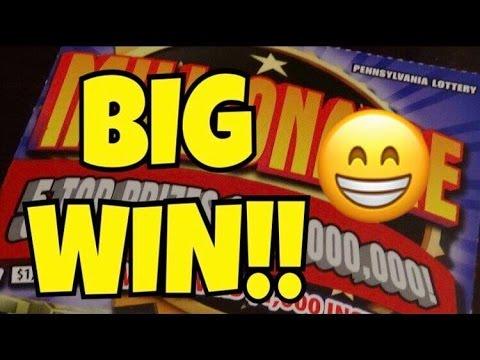 BIG WINNER! $20 Millionaire - Pennsylvania Lottery Scratch Off 🙂