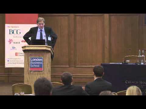 Global Energy Summit 2013 - Keynote speaker Andrew Gould