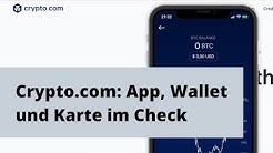 Crypto.com MCO Visa Card - Wallet, Einzahlung, Karte - Erfahrungen Review german/deutsch
