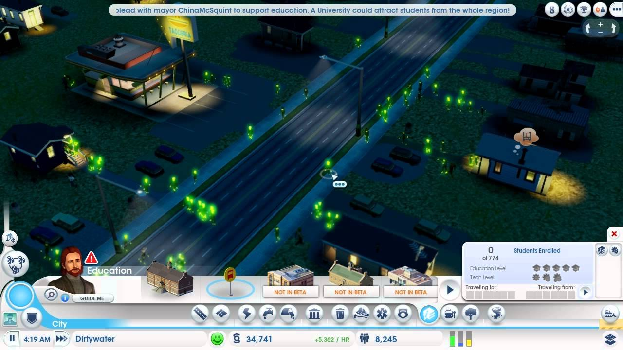 how to get ore in simcity