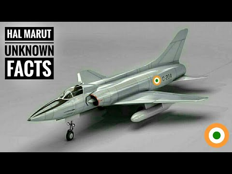 HAL Marut - Unkown Facts About India's First Indigenous Fighter Aircraft | HAL HF-24 Marut (Hindi)