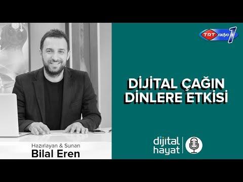 15.06.2018 | Dijital Hayat Bölüm175 - TRT RADYO1 I Dijital Çağın Dinlere Etkisi
