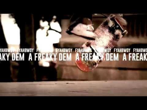 FYAHBWOY - A freaky dem - BL4QKFY4H (LYRICS VIDEO)