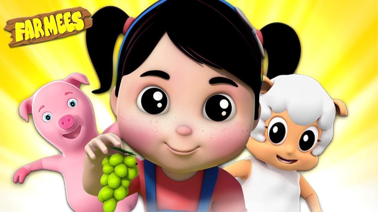 Nursery Rhymes For Kids | Best Children Songs And Videos | Cartoons For Kids - Farmees