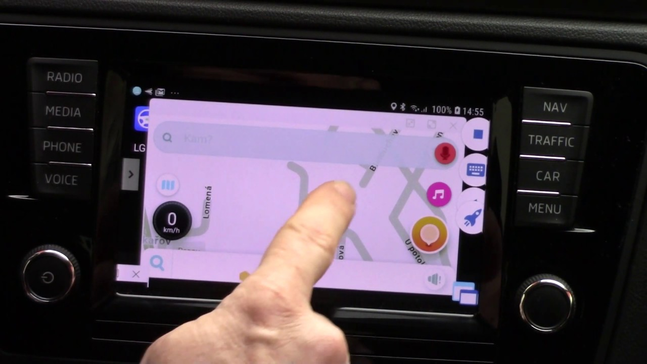 Waze and MirrorLink on Floating Apps for Auto for Samsung phones Android  7,8,9 !! by CarMirrorLink Auto