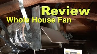 Whole House Fan Reviews: Overview, Install & Energy-Savings Analysis