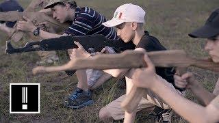 Ukraine's Hyper-Nationalist Military Summer Camp for Kids | NBC Left Field