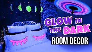 DIY Glow In The Dark ROOM DECOR!   Tumblr Inspired!