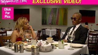 T.I. & Tiny End Marriage During Heartbreaking Final Dinner On 'The Family Hustle'