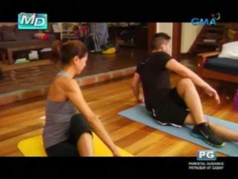 Pinoy MD: Core exercises para sa busy mommies