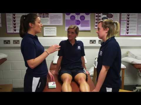 BSc Physiotherapy: Practical Rooms