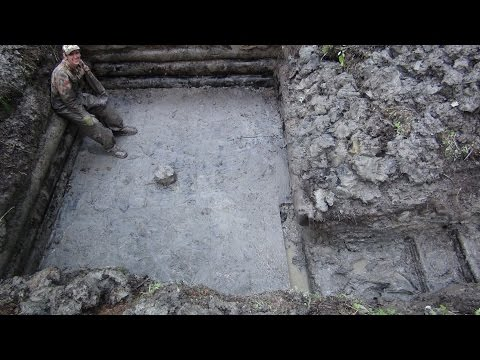 Эпичные Раскопки Блиндажа в ускоренном формате
