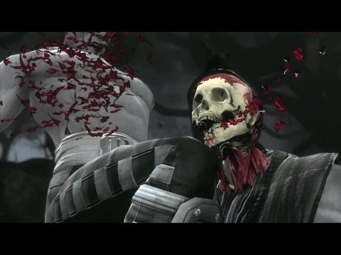 Super Smash Bros. with Mortal Kombat's X-Ray Moves is surprisingly horrifying