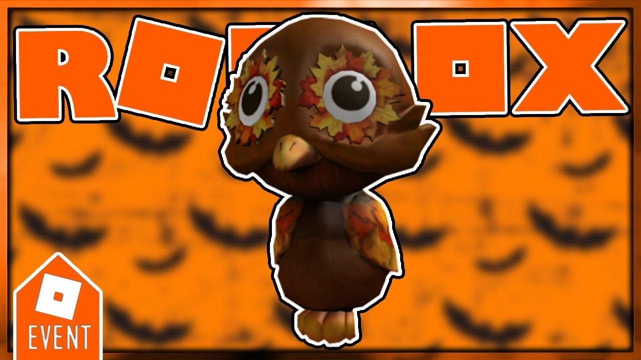 Roblox Halloween Event 2020 How To Get Owl PROMOCODE] HOW TO GET THE FALL SHOULDER OWL PAL | NEW PROMOCODE