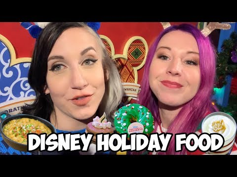 ALL of the New Holiday Food at Disneyland - Festival of Holidays