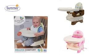 Ghế ăn cho bé Summer Deluxe SM13050 SM13060 13520 - sử dụng