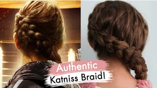Authentic Katniss Braid | Hunger Games Special Guest | Cute Girls Hairstyles