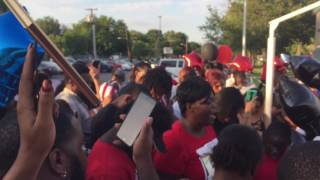 Mother of slain teen calls for justice and peace