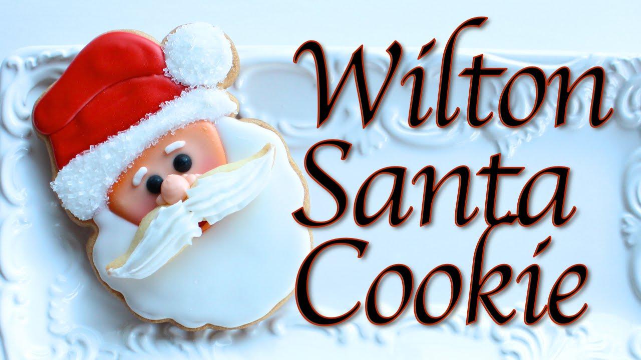 How To Make Santa Cookies Wilton Santa Cookie Cutter