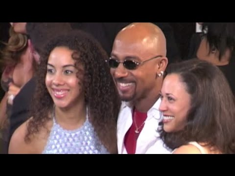 MONTEL WILLIAMS and girlfriend KAMALA HARRIS bring his daughter ASHLEY to MS benefit gala - 2001