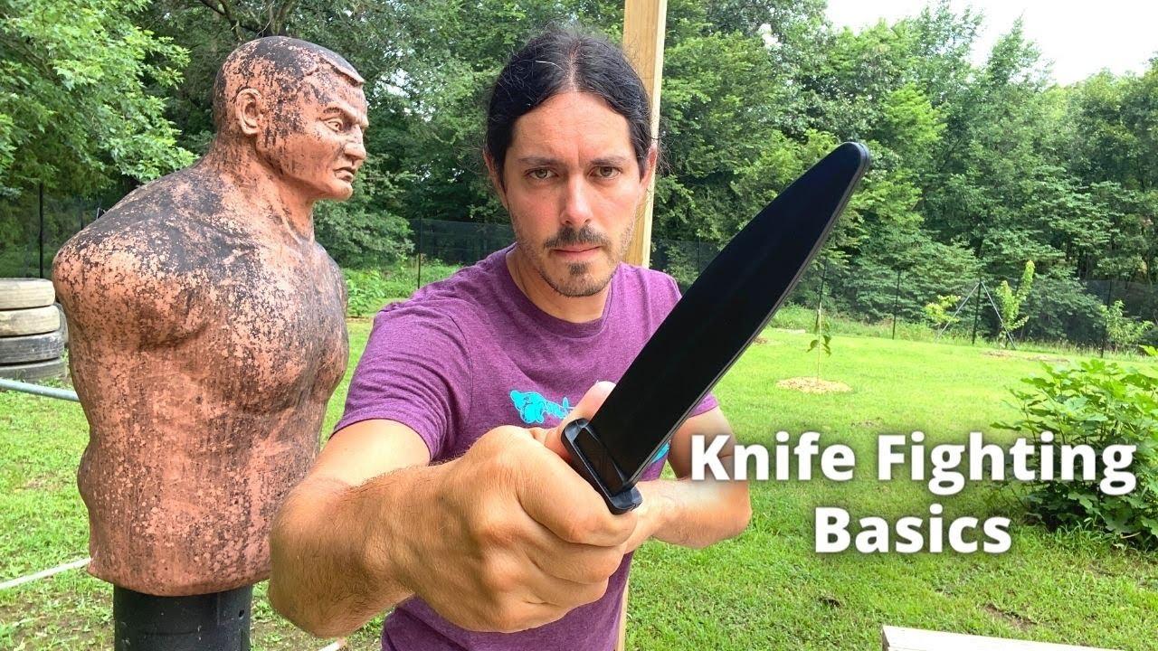 Kali Knife Fighting Basics Part One   Sak Sak Grip