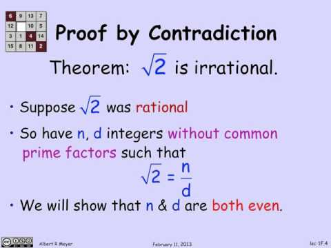 1.2.1 Proof By Contradiction