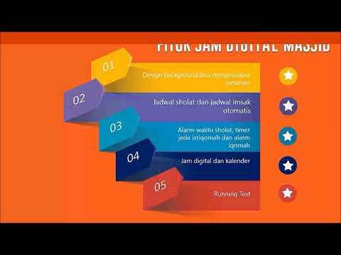 Jual jam digital masjid harga murah