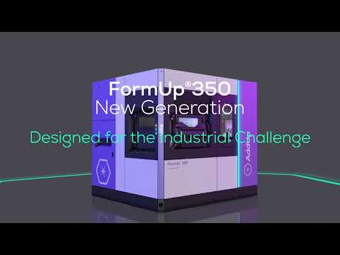 FormUp 350 New Generation, designed by industry for industry