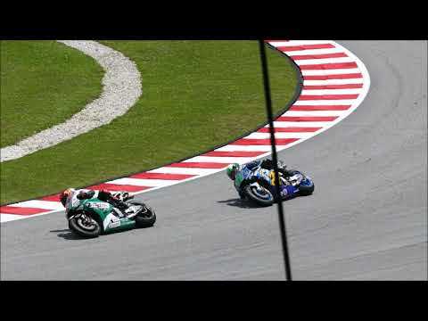 2018 MotoGP Sepang: Race View From Rossi Tribune Grandstand