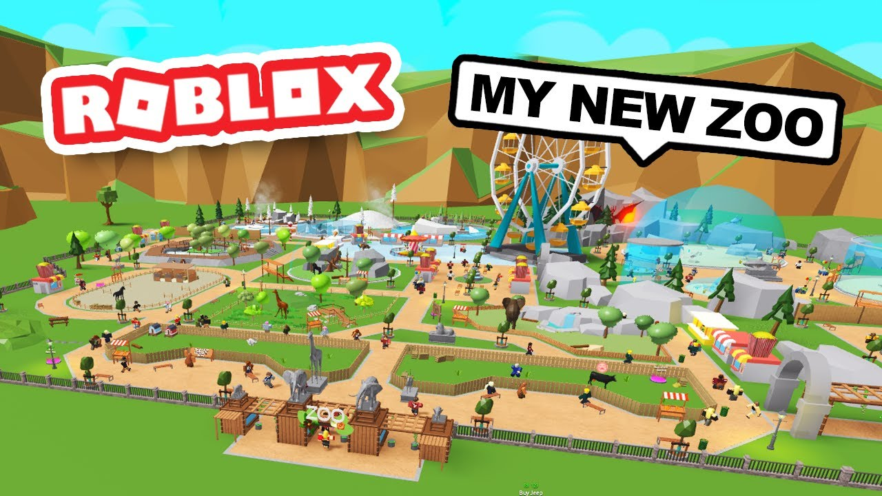 Download Building My Own ZOO in ROBLOX