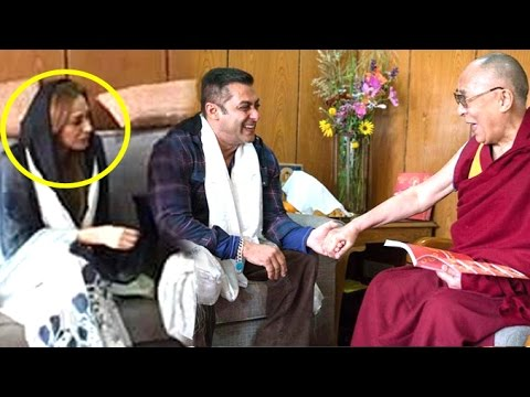 Salman Khan Taking Marriage Blessings From Dalai Lama For Girlfriend Lulia Vantur