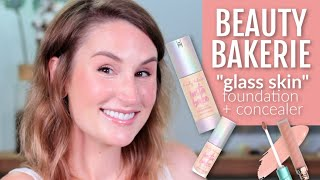 "BEAUTY BAKERIE ""GLASS SKIN"" FOUNDATION + CONCEALER 